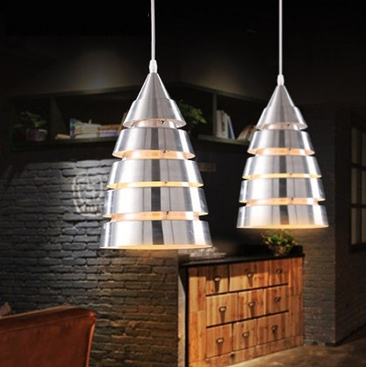 Edison Loft Style Aluminum Droplight Modern Pendant Light Fixtures For Living Dining Room Bar Hanging Lamp Indoor Lighting edison loft style wooden gourd droplight modern pendant light fixtures for living dining room hanging lamp indoor lighting