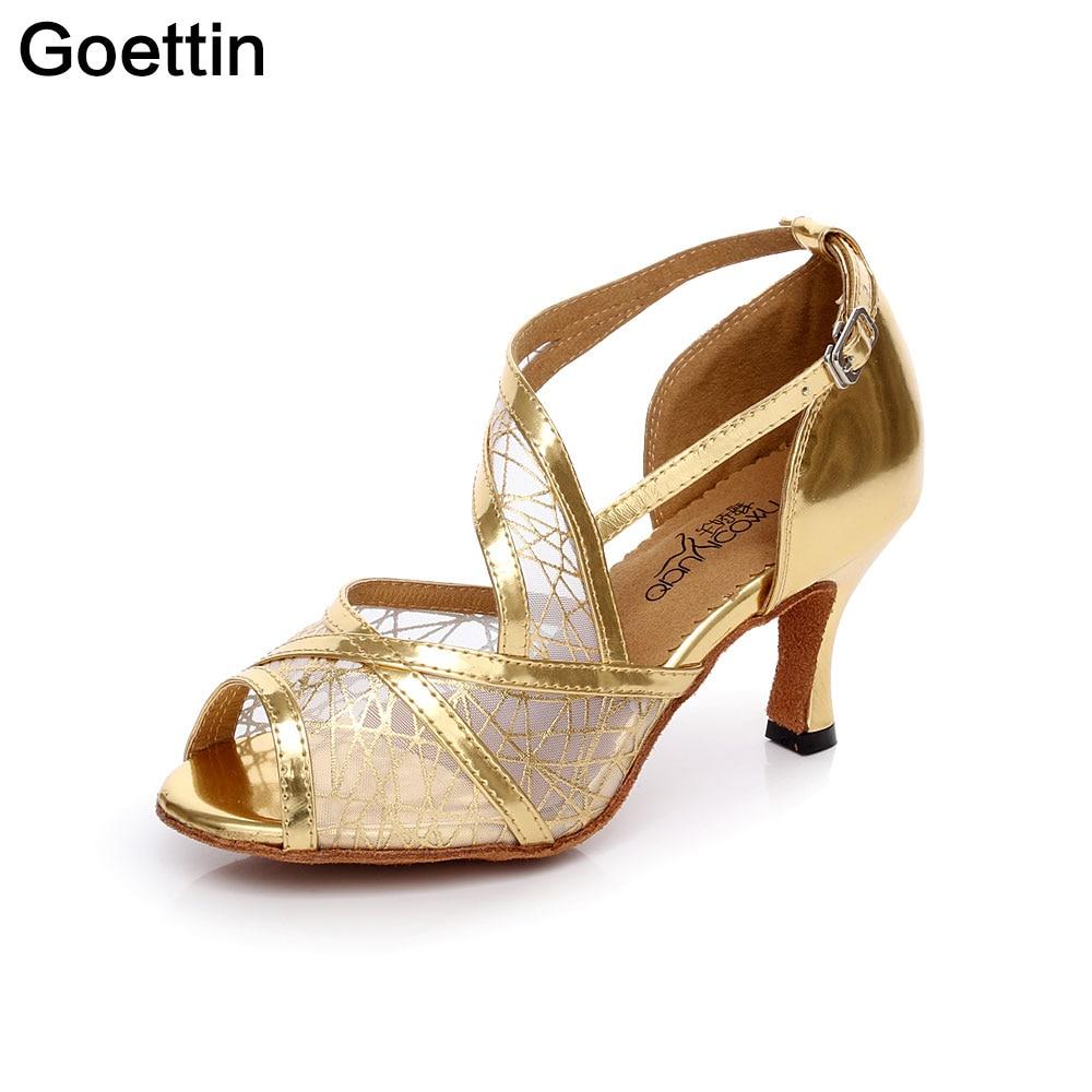 Ζεστό πωλώντας latin παπούτσια χορού - Πάνινα παπούτσια - Φωτογραφία 3