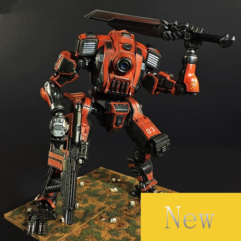TOY TOY  1:27 the 3rd generation robot action figure  all joint's hyper movable 1 toy т53915
