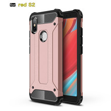 For Xiaomi Redmi S2 Phone Case Hybrid PC TPU 2in1 Back cover Y2 Silicone Shockproof Silm Hard Tough Rubber Armor Coque