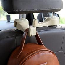 Крючки для автомобиля кронштейн для сиденья спинка сиденья скрытый крючок маленький автомобильный крюк втягивающее устройство для автомобиля