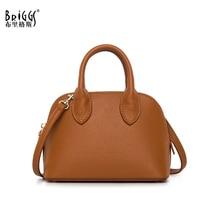 BRIGGS High Quality PU Leather Women Shoulder Bag Fashion Crossbody Bag Ladies Shell Women Bag Famous Brand Female Handbag Purse