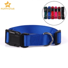 Nylon Dog Collar For Dogs Cats Puppies Breakaway Pet Collar For Small Large Dogs Breathable Glowing Puppy Cat Dog-Collar JW0035
