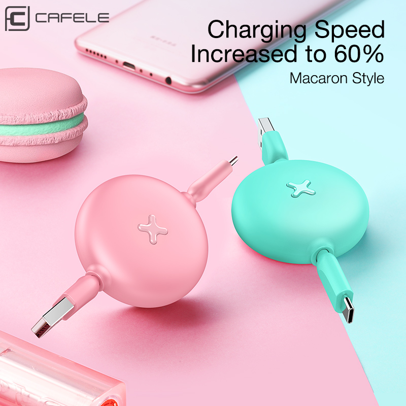 Image 4 - CAFELE USB Type C Cable for Xiaomi huawei Mobile Phone USB C Fast Charging Mini Type C Cable for Samsung Galaxy S9 Data Sync-in Mobile Phone Cables from Cellphones & Telecommunications
