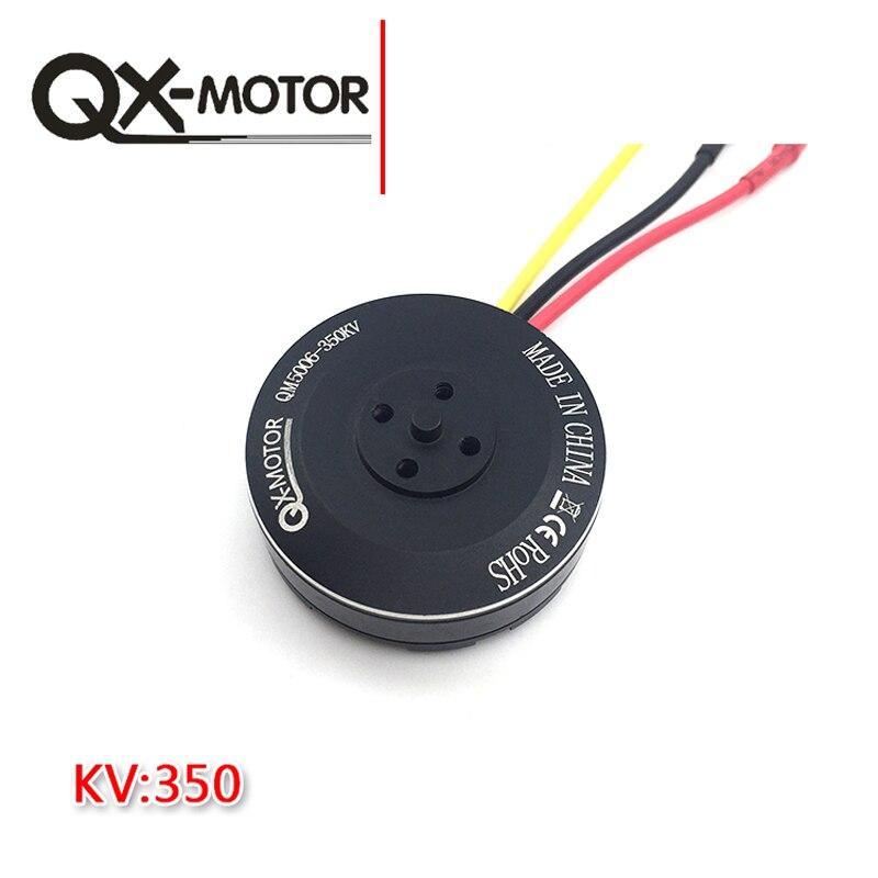 4Pcs QX-MOTOR 6S 5006 350KV 4008 4108 Brushless Motor Multi-rotor Disc for RC Multicopters Drone 550 650 850 цены онлайн