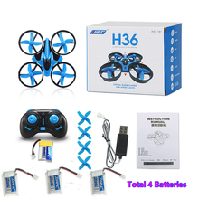 Newest JJRC H36 Mini Drone 6 Axis RC Quadcopter With Headless RC Helicopter mini Eachine E010 For Children Christmas Gift Xmas