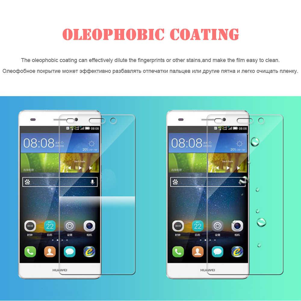 100% verre trempé véritable pour Huawei P6 P7 P8 P9 lite Honor 4X 5C 5A 6 6X7 protecteur d'écran Film de protection anti-rayures HD