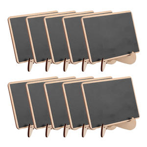 Wooden Chalkboards Wedding-Party-Decorations Rectangle for 5pcs/Lot