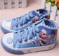 Canvas cartoon Children Shoes Sport Breathable Boys Sneakers Brand Kids Shoes for Girls cotton Casual Child Flat Boots 26-37