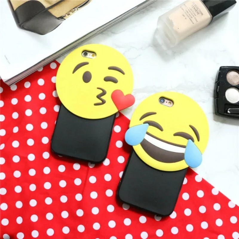 coque iphone 6 emoji 3d