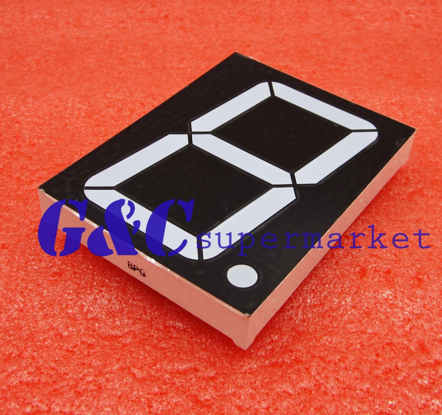 3 Inch 1 Digit Green Led Display 7 Segment Common Anode