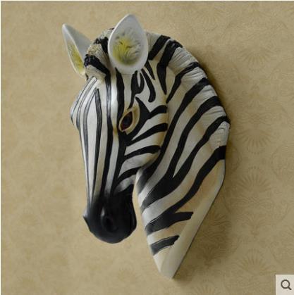 Wall Decoration Crafts, Zebra Head, Giraffe Head, Elephant Head ...