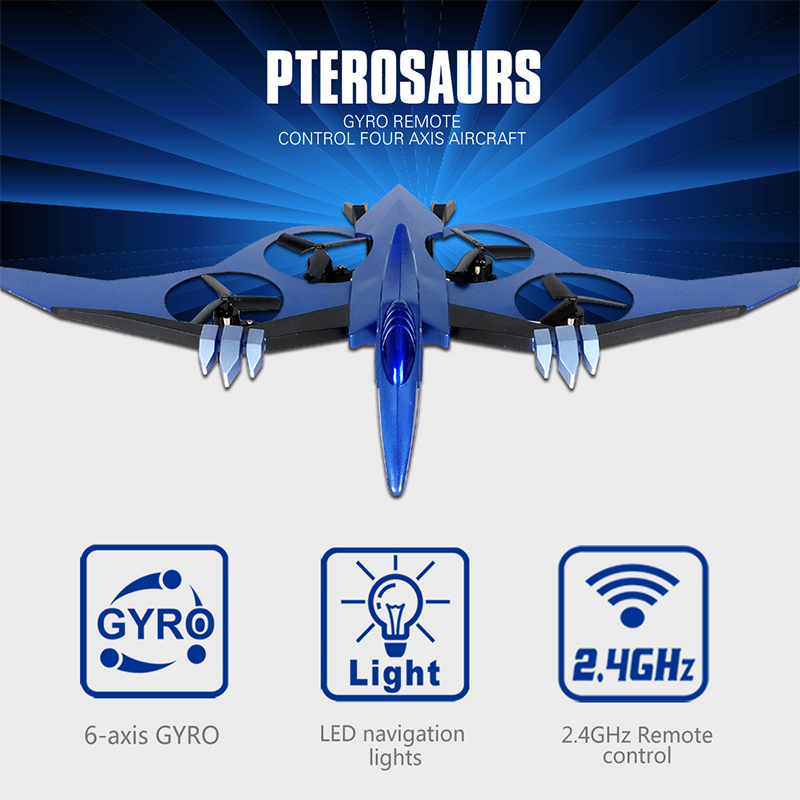 JXD 511 RC Quadcopter 2.4G Pterosaur small axis Helicopter  Remote Control Toy Drone Without Camera As Kid Gift yc folding mini rc drone fpv wifi 500w hd camera remote control kids toys quadcopter helicopter aircraft toy kid air plane gift