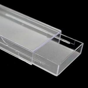 Image 5 - 50 pçs/lote Cílios Acrílico Puxar tipo De Armazenamento Caso Caixa De Embalagem para a caixa de Cílios Transparente Tampa Magnética Bandeja Claro de Alta Qualidade