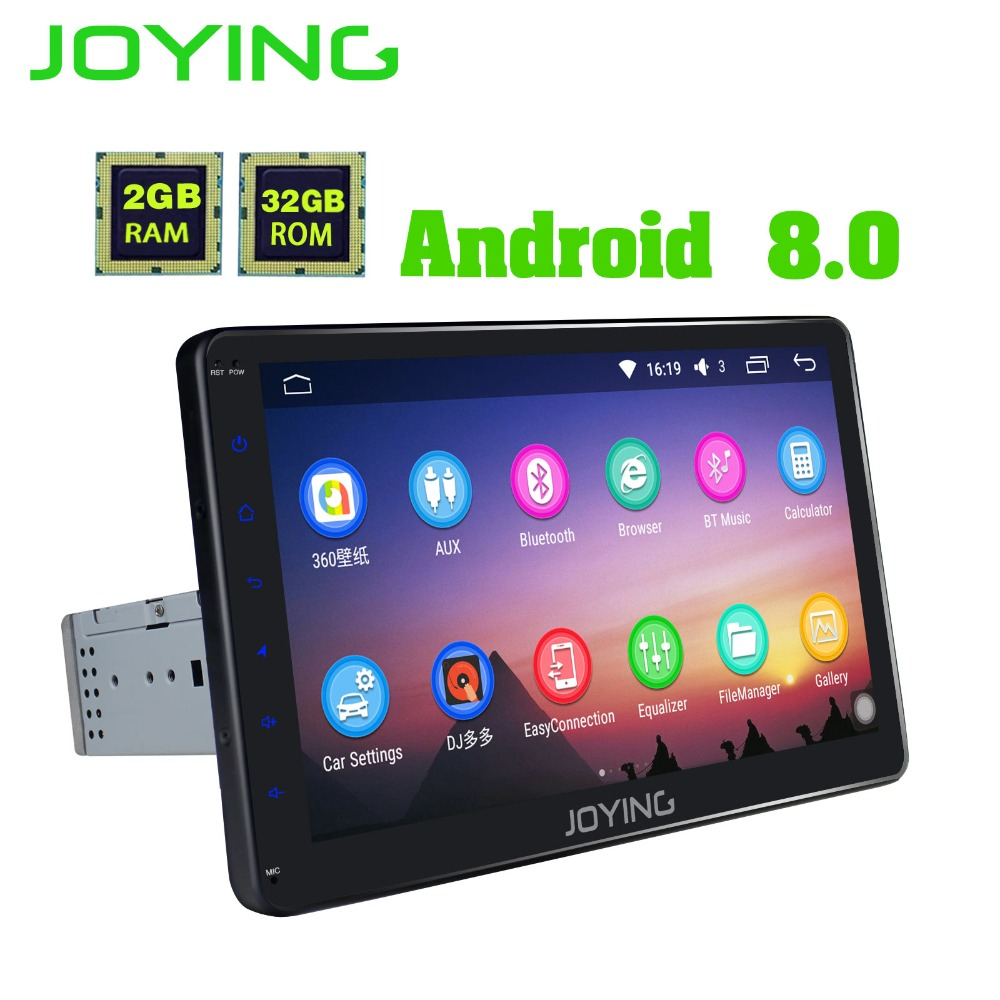 10 1 joying 2gb 32gb single 1 din android car radio audio. Black Bedroom Furniture Sets. Home Design Ideas
