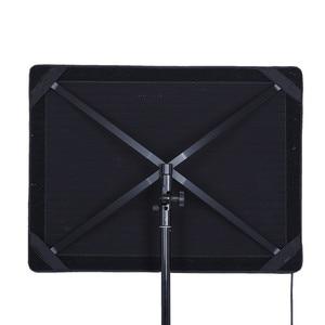 Image 5 - O rolo flexível de falconeyes RX 18TD 100 w 504 pces conduziu o vídeo 3200 k 5600 k luz rolável pano lâmpada & controlador da tela de toque do lcd