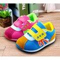 2017 nuevas marcas de la zapatilla de deporte 13.5-16 cm del bebé shoes primer paso boy/girl shoes infantil/recién nacido shoes shoes calzado antideslizante de los niños