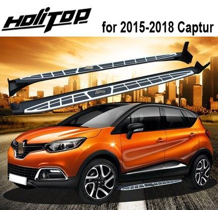 Hot nerf bar foot board side pedals Steps for Renault Captur 2015 2018 OEM model most