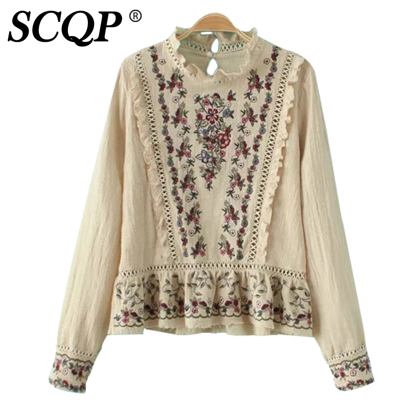 Aliexpress  Buy Elegant Floral Embroidery Hollow Out