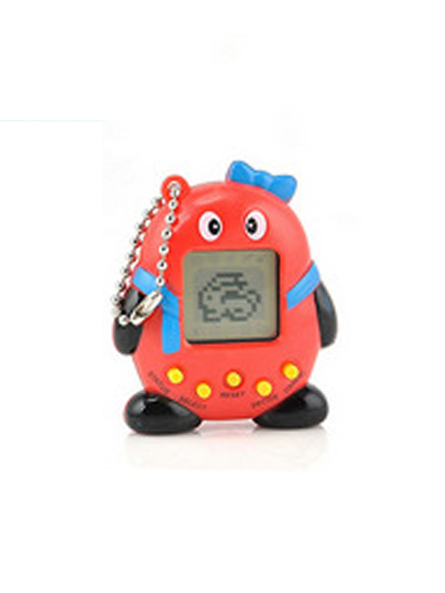 Mini Plastic Electronic Digital Pet Penguins Funny Toys Handheld Game Machine For Gift
