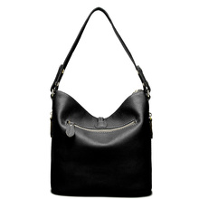 2018 New Fashion Designer Women Shoulder Bag Metal Tassel 100% Real Leather Ladies Crossbody Messenger Elegant Gift Handbag