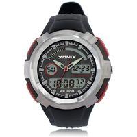 100M Waterproof Mens Sports Watches Relogio Brands Hot Men PU Sport Watch Reloj S Shockproof Electronic Wristwatch