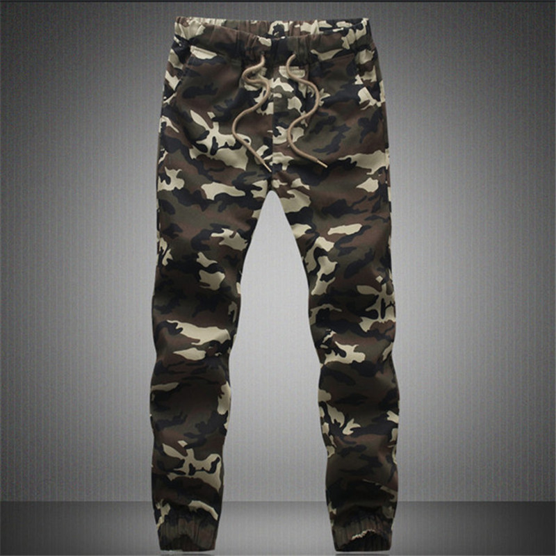 2018 Casual Men Pants Camouflage Hip Hop Army Brand