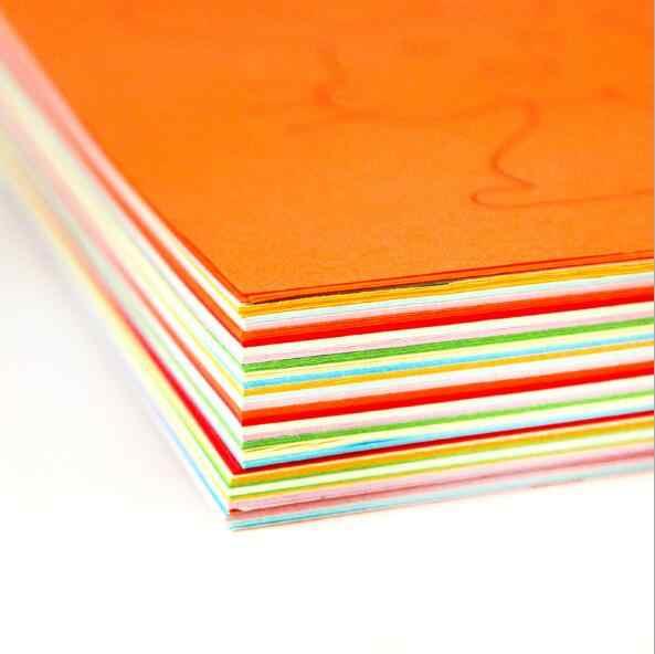 48 قطعة/مجموعة من ألعاب الورق الملون للأطفال قابلة للطي والقص/مشغولات فنية لمستلزمات حديقة الأطفال ألعاب تعليمية ذاتية الصنع WYQ