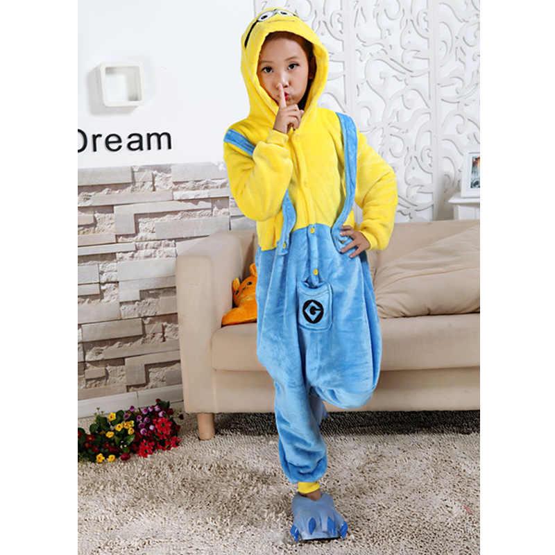 5cadcfedd4b0 Animal Cartoon Pajama Onesie Baby Pajamas Funny Animal Kids Girls Boys  Pikachu Totoro Children Minion Sleepwear