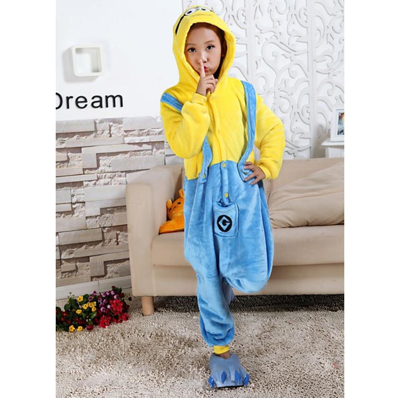Animal Cartoon Pajama Onesie Baby Pajamas Funny Animal Kids Girls Boys Pikachu Totoro Children Minion Sleepwear Kids Nightwear