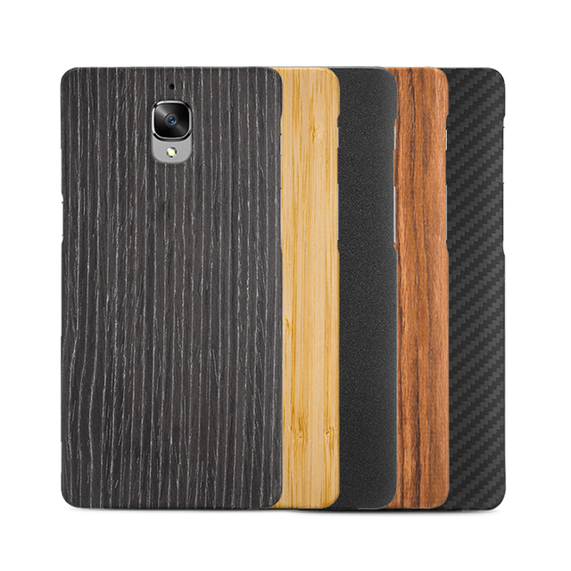 sale retailer 78631 49ee3 US $20.99 |Original Genuine For Oneplus 3/3T/One Plus 3/Oneplus3 Sandstone  Back Case Cover Accessories Black Apricot/Bamboo/Rosewood/Karbon on ...