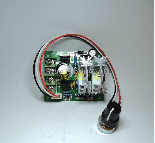 Computer & Office Brilliant Reversible 6v-30v 3-10a Pulse Width Pwm Dc Speed Regulator Controller Switch With Reversing Switch Superior Materials