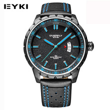 EYKI Sports Fashion Mens Watches Top Brand Luxury Luminous Display Man Quartz-watch Colorful Designer Auto Date Horloges Mannen