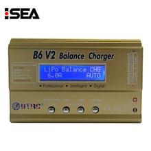 HTRC B6 V2 80 W Professionnel Numérique Batterie Solde Chargeurs Déchargeurs pour LiHV LiPo Li-ion Vie NiCd NiMH PB Batterie de charge