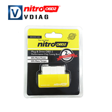 2016 New Arrival Chip Tuning Box Plug and Drive NitroOBD2 Benzin Nitro OBD2 Benzine interface Chip Tuning Box Interface
