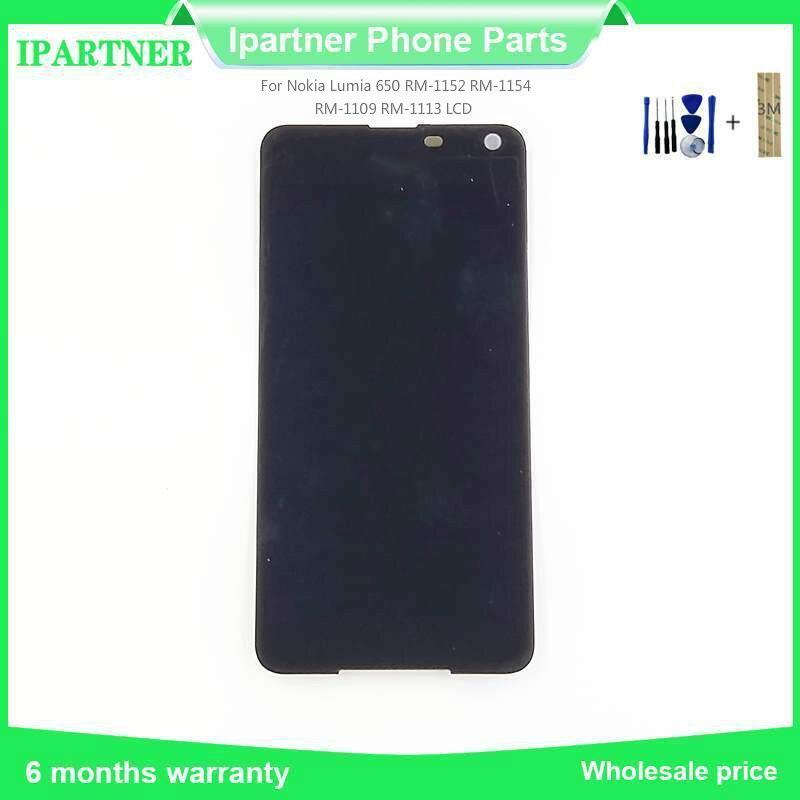 Pour Nokia Lumia 650 RM-1152 RM-1154 RM-1109 RM-1113 écran lcd ensemble numériseur à écran tactile 5.0