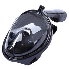Подводная противотуманная маска для подводного плавания, ныряния с дыхательной трубкой одежда заплыва обучение Подводное mergulho 2 в 1 полный уход за кожей лица Подводное плавание маска Gopro камера челнока