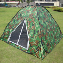 3-4 person Camouflage Watching bird hunting Toilet Dressing Pop up Portable UV H