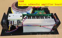 Cosa reale 220 V casa 500 W scheda amplificatore subwoofer Attivo