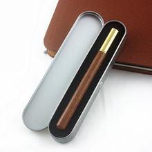 Роскошная деревянная деловая роликовая ручка 05 мм офисная шариковая