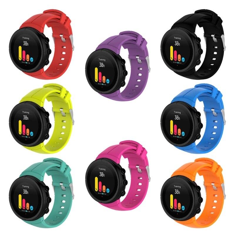 Silicone substituição pulseira de pulso para suunto spartan ultra esporte relógio inteligente