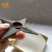 New Anime Naruto Shuriken 2017  in box Ninja Cosplay Weapon Props Metal Alloy Gift Children Toy