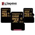 Kingston Карта Micro Sd С10 16 ГБ 32 ГБ 64 ГБ Класс Карты Памяти 10 SDHC SDXC UHS-I U1 Microsd Карты 90 МБ/с. для Смартфонов Tablet