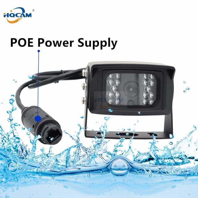 HQCAM POE עמיד למים 1MP 2MP 3MP 4MP 5MP אוטובוס mini מצלמה חיצוני רכב IP מצלמה IR Cut ראיית לילה IP מצלמה xmeye