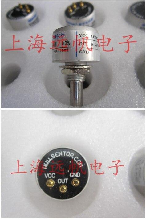 [VK] ORIGINAL  WDH22 0505 W360 non-contact 0-360 degree 0-5V 0.3% output Angle sensor switch[VK] ORIGINAL  WDH22 0505 W360 non-contact 0-360 degree 0-5V 0.3% output Angle sensor switch