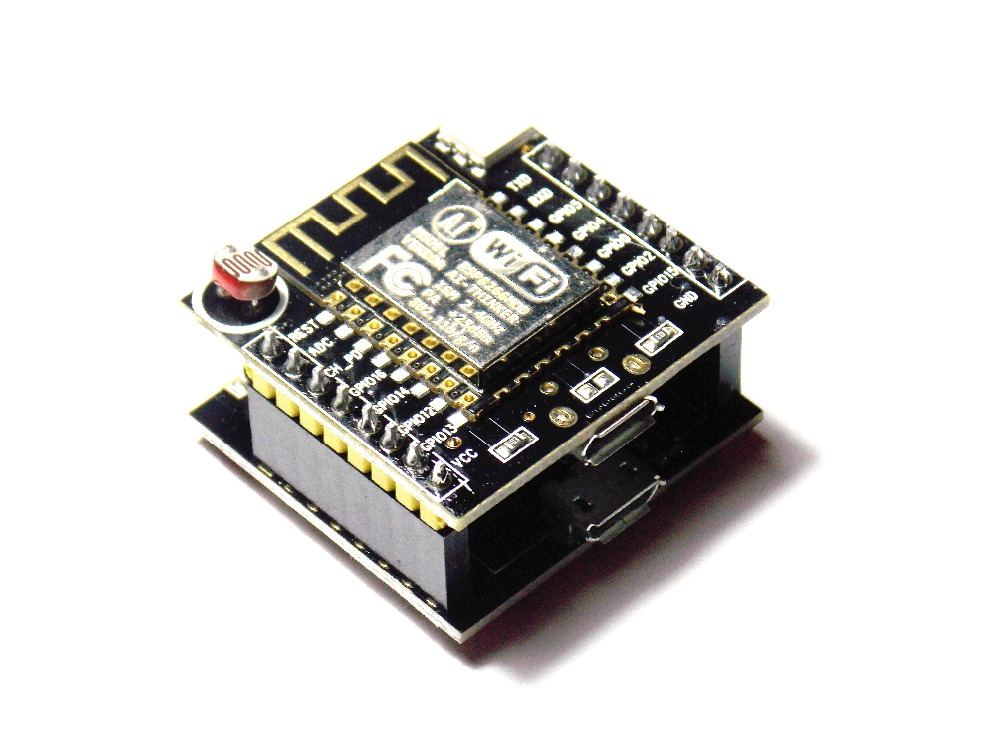 1PCS ESP8266 serial WIFI Witty cloud Development Board ESP-12F module MINI nodemcu ...