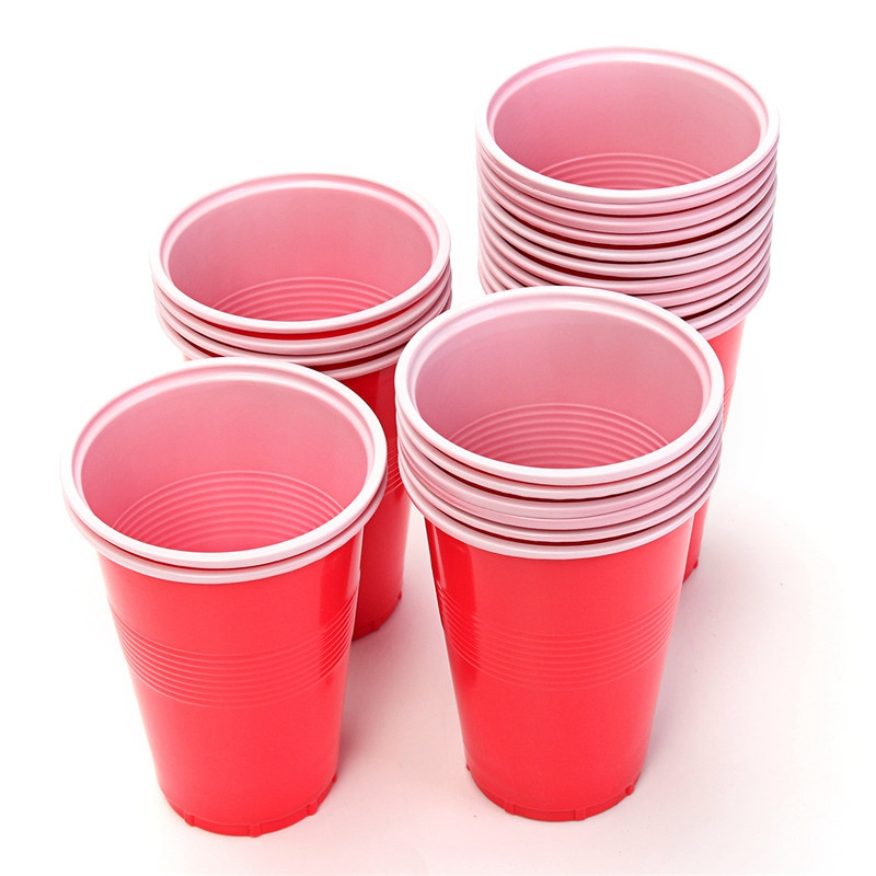 Pong Balls & Cups - Party Beer Pong Fun Kit 20