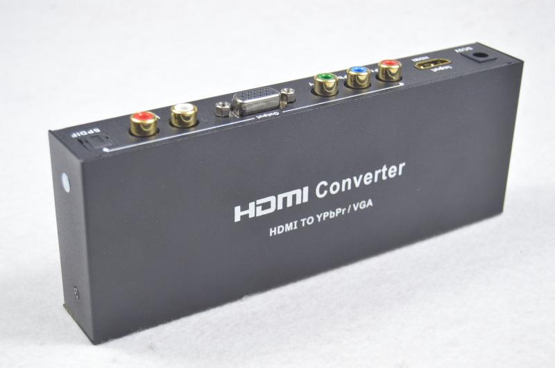 HDMI to VGA Ypbpr RGB Component
