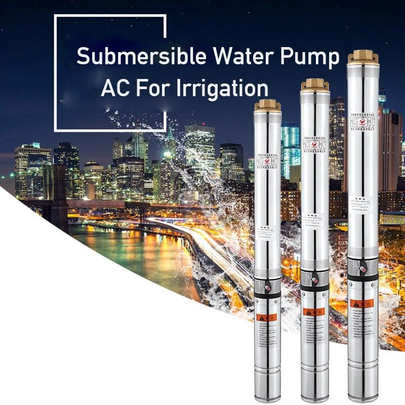 400 W 40 M Lift 220v50hz Diepe Goed Pomp Dompelpomp Ac Voor Irrigatie Zacht En Licht