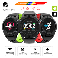 Original F5 GPS Smart Watch Altimeter Barometer Thermometer Bluetooth 4 2 Smartwatch Bluetooth Wearable Devices For